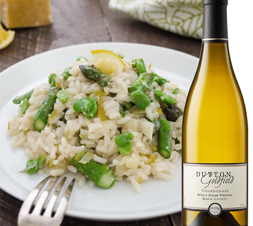 Creamy Spring Vegetable Lemon Risotto