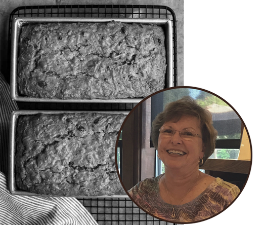 Barb McDougall's Raw Apple Cake